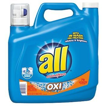 Save $1.00 off (1) All Brand Laundry Detergent Coupon