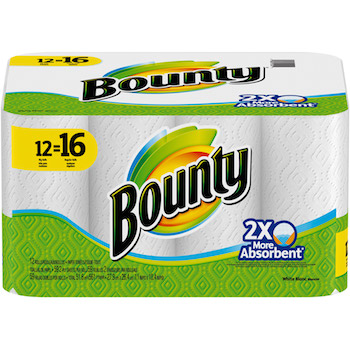 Save $0.25 off (1) Bounty Paper Towels Printable Coupon