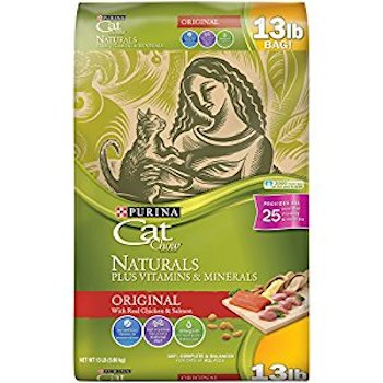 Save $1.00 off (1) Purina Cat Chow Dry Cat Food Coupon