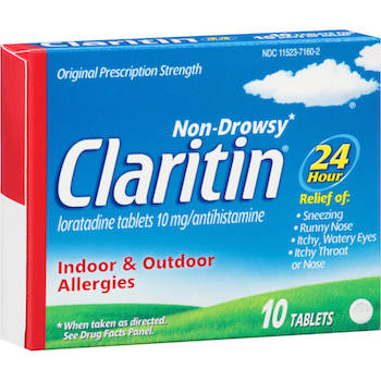 Save $4.00 off (1) Claritin Allergy Products Printable Coupon