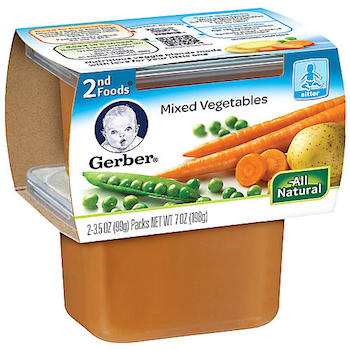 Save $1.00 off (6) Gerber Puree Printable Coupon