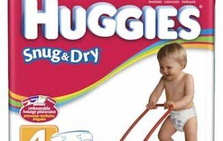 Save $1.00 off (1) Huggies Baby Diapers Printable Coupon