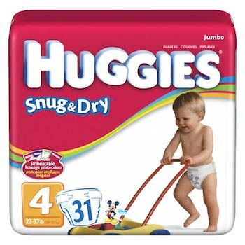 Save $2.00 off (1) Huggies Baby Diapers Printable Coupon
