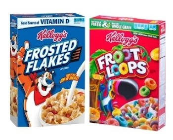 Save $2.00 off (4) Kellogg's Brand Cereals Printable Coupon