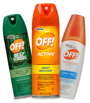 Save $0.55 off (1) Off! Bug Spray (Repellent) Printable Coupon