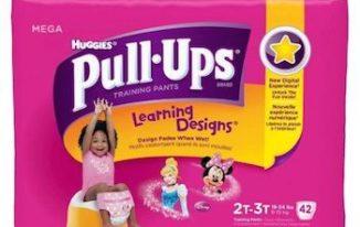 Save $1.00 off (1) Huggies Pull Ups Diapers Printable Coupon