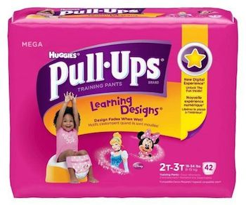 Save $1.00 off (1) Huggies Pull Ups Diapers Printable Coupon