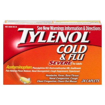 Save $1.50 off (1) Tylenol Cold or Sudafed Printable Coupon