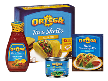 $1 off (2) Ortega Mexican Products Printable Coupon