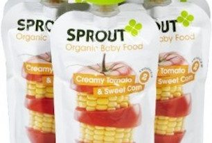 Save $1 off (1) Sprout Organic Baby or Toddler Snack Coupon