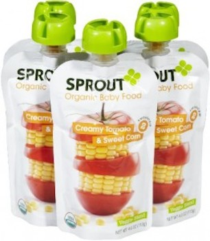Save $1.00 off (1) Sprout Organic Baby or Toddler Snack Coupon