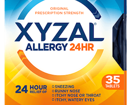 Save $4 off XYZAL Allergy Relief Printable Coupon – 2018