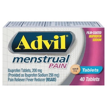 $2 off Advil Menstrual Pain Reliever Printable Coupon