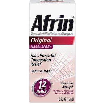 Save $1.00 off (1) Afrin Nasal Spray Printable Coupon