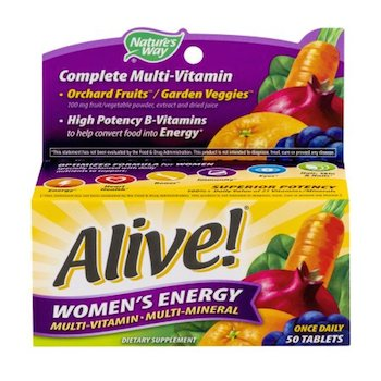Save $2.00 off (1) Alive! MultiVitamins Printable Coupon
