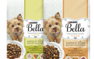 Save $4.00 off (12) Trays or (1) Pack Purina Bella Dog Food Coupon