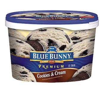 Save $0.75 off (1) Blue Bunny Ice Cream Printable Coupon