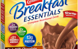 Save $2.00 off (2) Carnation Breakfast Essentials Printable Coupon