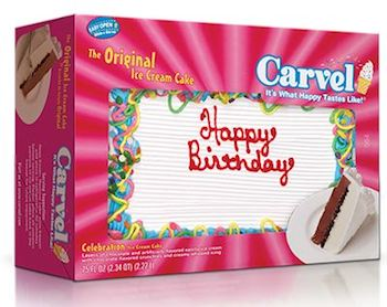 Carvel Ice Cream Cakes Coupons