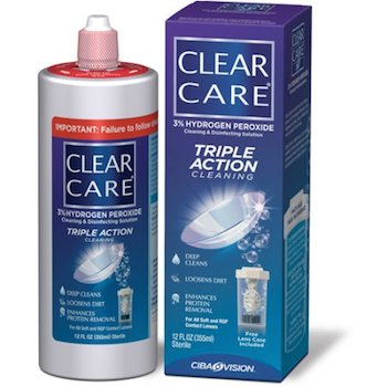 Save $5 off (1) Clear Care Contact Solution Coupon