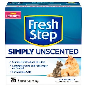 graphic relating to Fresh Step Printable Coupon identified as $1.50 off New Action Unscented Cat Muddle Printable Coupon