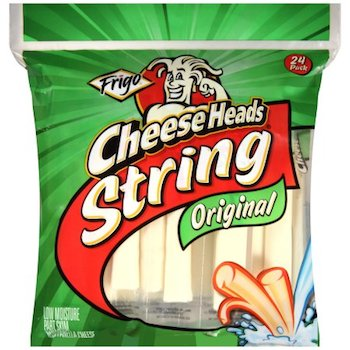 Save $0.75 off (1) Frigo Cheese Heads Printable Coupon