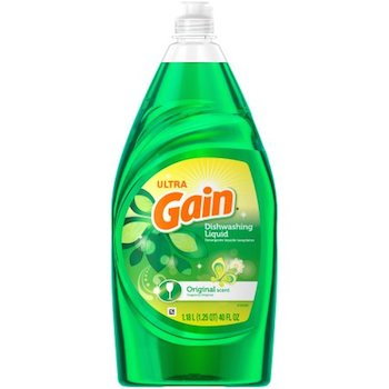 .50 off Gain Dish Soap with Printable Coupon