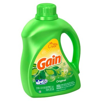 Save $2.00 off (1) Gain Laundry Detergent Printable Coupon