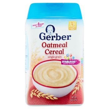 Save $1.50 off (2) Gerber Baby Cereal Printable Coupon
