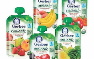 Save $1.00 off (4) Gerber Food Pouches Printable Coupon