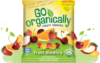 Save $1.00 off (1) Go Organically Fruit Snacks Printable Coupon