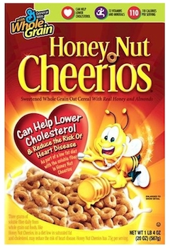 picture relating to Cheerios Coupons Printable named Help save $0.50 off (1) Honey Nut Cheerios Printable Coupon
