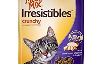 Save $0.55 off (1) Meow Mix Cat Treats Printable Coupon