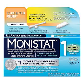 picture regarding Monistat Printable Coupons named $3 off Monistat 1 Process Goods with Printable Coupon