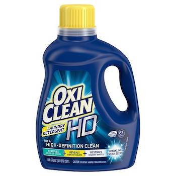 graphic about All Laundry Detergent Printable Coupons titled Conserve $2.00 off (1) OxiClean Laundry Detergent Printable Coupon