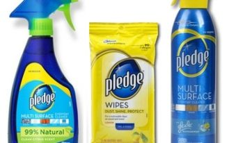 Save $1.00 off any (1) Pledge Products Printable Coupon