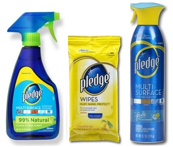 Save $0.50 off any (1) Pledge Products Printable Coupon