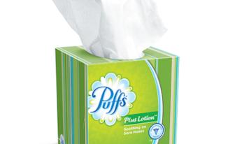 Save $0.25 off (1) Puffs Facial Tissue Printable Coupon