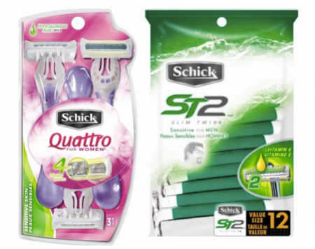schick $4 off coupon