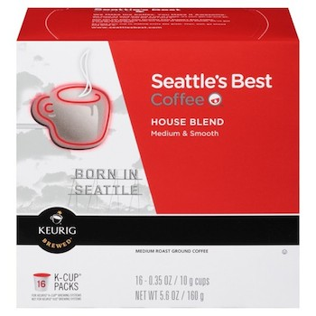 Save $2.25 off (2) Seattle's Best Coffee (K Cups and Bags) Coupon
