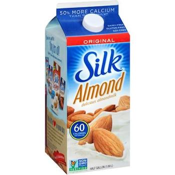 Save $1.00 off (1) Silk Almond Milk Printable Coupon