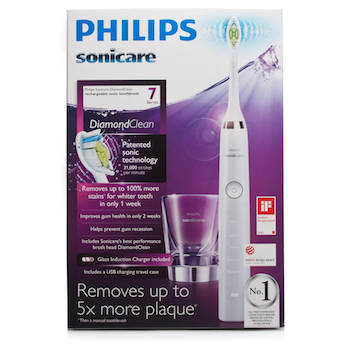 Save $20.00 off (1) Sonicare Diamond Electric Toothbrush Coupon