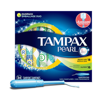 image about Tampax Coupons Printable called Help save $2 off Any (2) Tampax Pearl Products and solutions Printable Coupon