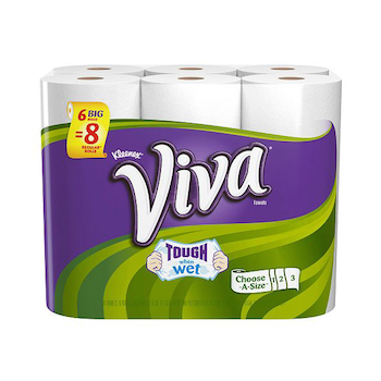 photo about Viva Printable Coupons known as Help you save $0.50 off (1) Viva Paper Towels Printable Coupon