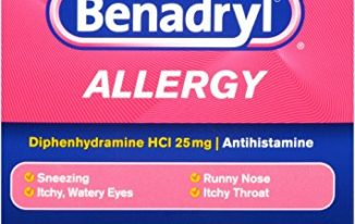 Save $1.00 off (1) Benadryl Allergy Relief Printable Coupon