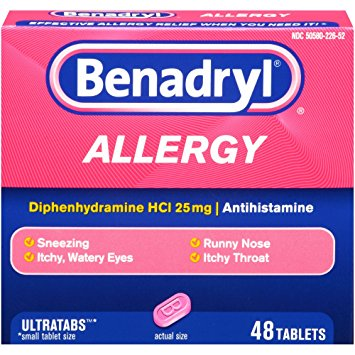 image regarding Benadryl Printable Coupon titled Preserve $1.00 off (1) Benadryl Allergy Reduction Printable Coupon