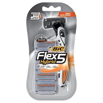 Save $6 off any (2) BiC Flex 5 Hybrid or Disposable Pack Printable Coupon