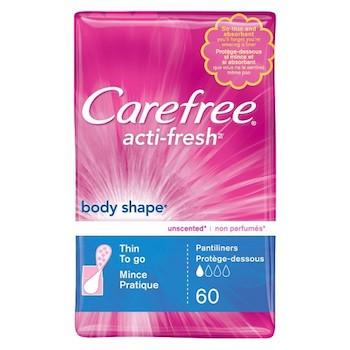 Save $0.75 off (1) CareFree Pantiliners Printable Coupon