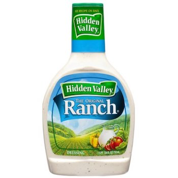 Save .75 off Hidden Valley Ranch Salad Dressing with Printable Coupon