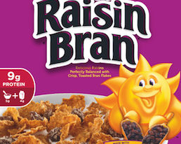 Save $0.25 off (1) Kellogg's Raisin Bran Cereal Printable Coupon